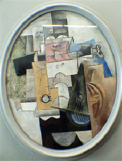 PPT - Picasso and Braque Synthetic Cubism PowerPoint ...  |Mandolin And Clarinet Picasso