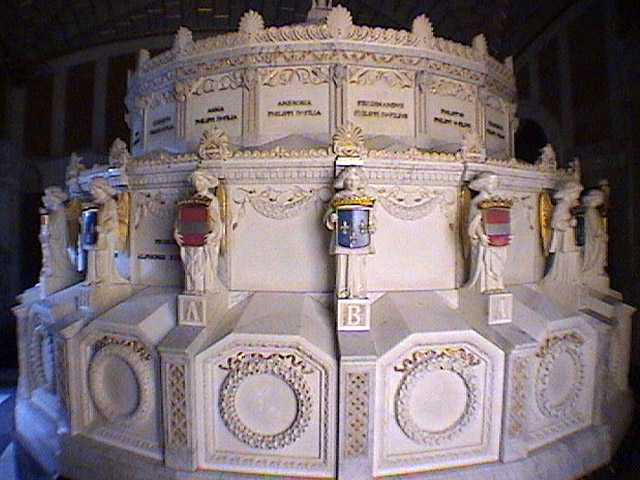 El Escorial Birthday Cake Tomb